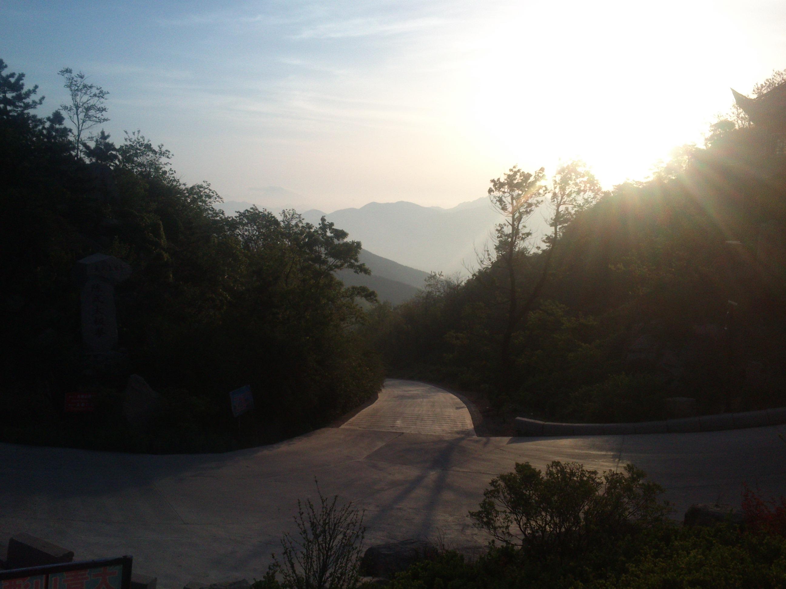 Die Sonnenaufgänge waren einfach unschlagbar