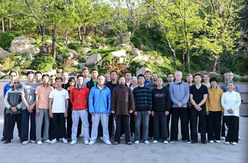 Gruppenfoto nach dem Morgentraining